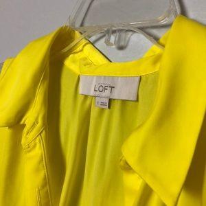 LOFT Tops - Bright yellow Loft shirt. Breezy and comfortable